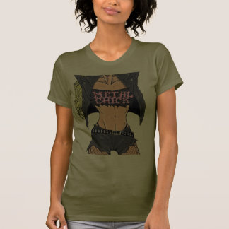 Metal Chick Tee Shirt