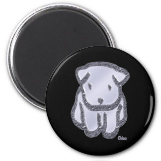 Metal Chico 2 Inch Round Magnet