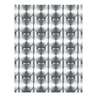 Metal circles pattern flyer