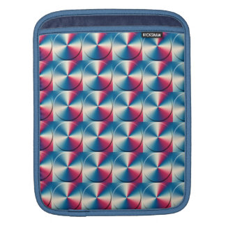 Metal circles pattern sleeve for iPads
