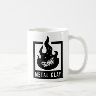 Metal Clay Mug