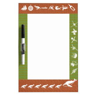 Metal Color Strips - FUN Graphics Dry Erase Board