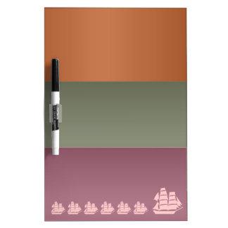 Metal Color Strips - Voyage Sail Vacation Journey Dry Erase Board