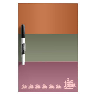 Metal Color Strips - Voyage Sail Vacation Journey Dry-Erase Whiteboard