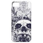 Metal con alas del gótico del caso del iPhone 5 iPhone 5 Case-Mate Protectores