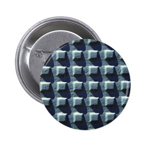 Metal con los cuadrados elevados pin