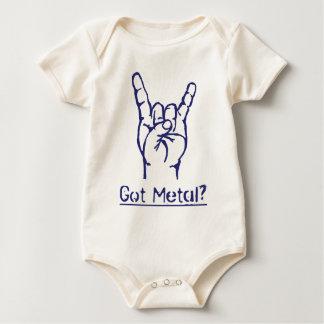 ¿Metal conseguido? Body Para Bebé