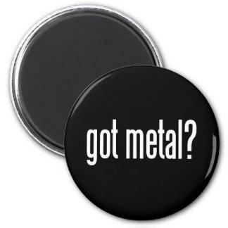 Metal conseguido imán redondo 5 cm