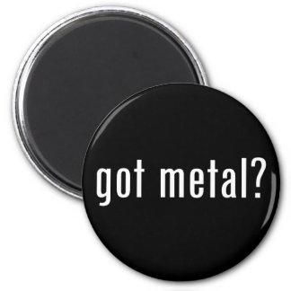¿metal conseguido? iman