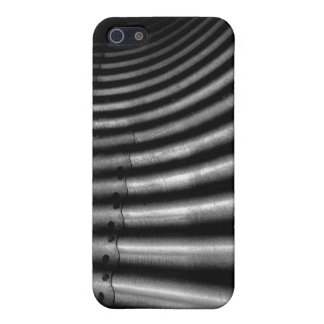 metal construction plate abstract iPhone SE/5/5s cover