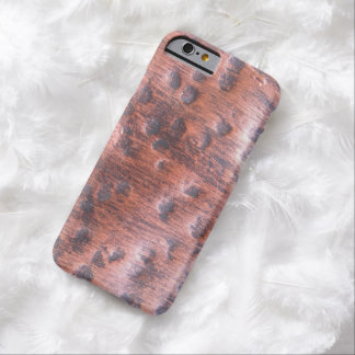 Metal Copper Bump Barely There iPhone 6 Case