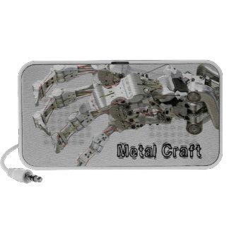 Metal craft speaker
