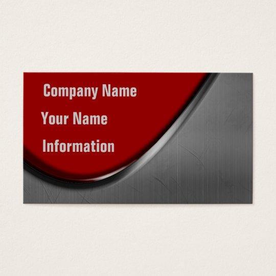 Metal Curve Business Cards