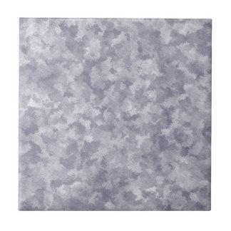 Metal de acero galvanizado falsa plata azulejo cuadrado pequeño