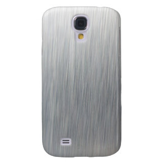 Metal de aluminio cepillado funda samsung s4
