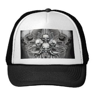 Metal de la muerte de Santee - imagen de la camisa Gorras De Camionero
