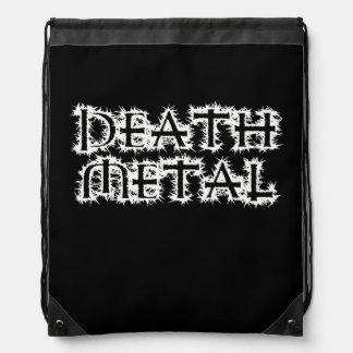 Metal de la muerte mochilas