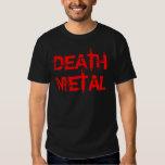 Metal de la muerte playeras