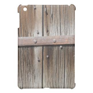 Metal de madera y oxidado resistido viejo
