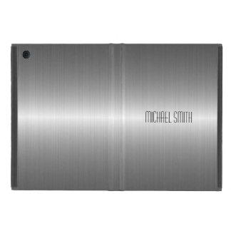 Metal de plata del acero inoxidable iPad mini cobertura