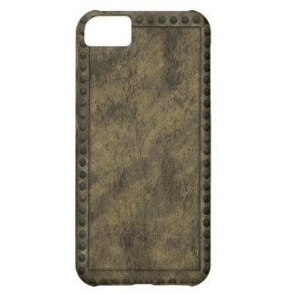 Metal de Steampunk y caso del iPhone del panel de  Funda Para iPhone 5C