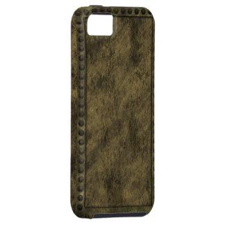 Metal de Steampunk y caso del iPhone del panel de iPhone 5 Funda