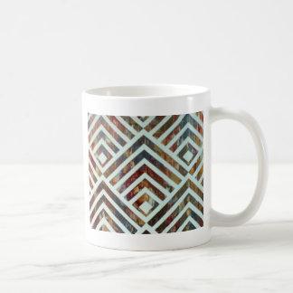 Metal Deco Coffee Mug