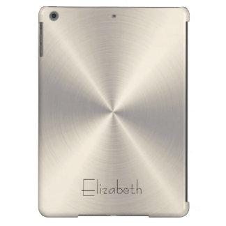 Metal del acero inoxidable funda para iPad air