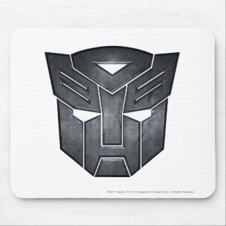 Metal del escudo de Autobot Tapetes De Ratón