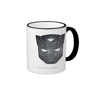 Metal del escudo de Autobot Taza A Dos Colores