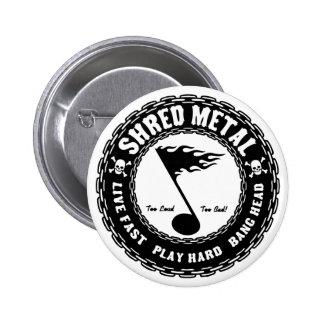 Metal del fragmento pin