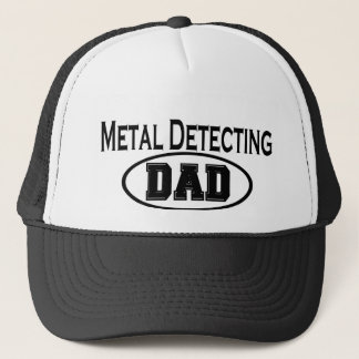 Metal Detecting Dad T-shirts and Gifts. Trucker Hat