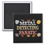 Metal Detecting Fanatic Refrigerator Magnets