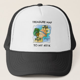 Metal Detecting Items Trucker Hat