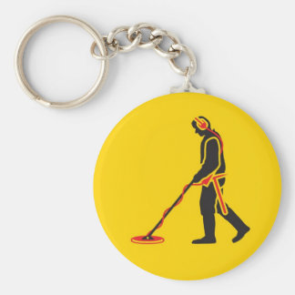 Metal Detecting Keychain