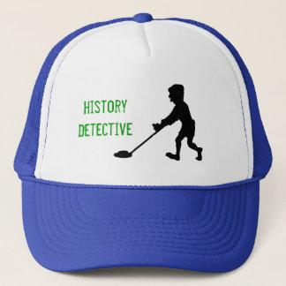 Metal Detector History Detective Silhouette Trucker Hat