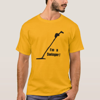 metal detector, prospector,treasure hunter T-Shirt