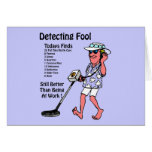 Metal Detectors Greeting Card