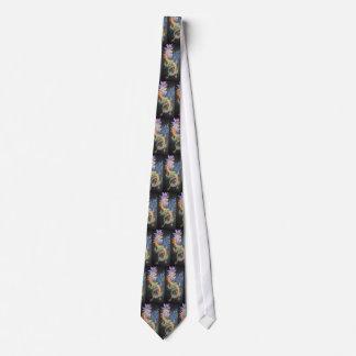 Metal Dragon Neck Tie