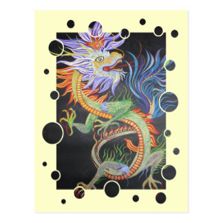 Metal Dragon Postcard