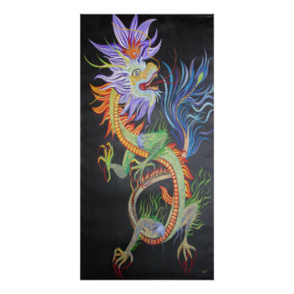 Metal Dragon Poster