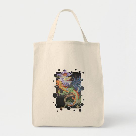Metal Dragon Tote Bag