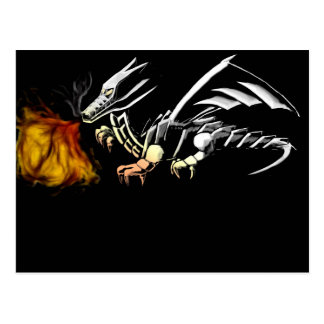 Metal dragoon postcard