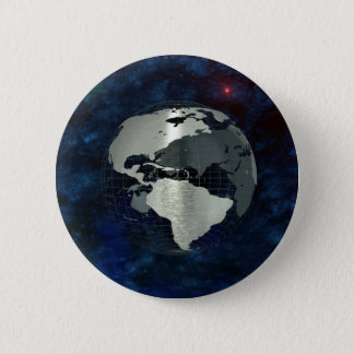 Metal Earth Globe Button