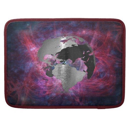 Metal Earth Globe MacBook Pro Sleeve