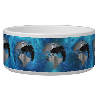 Metal Earth Globe Pet Water Bowls