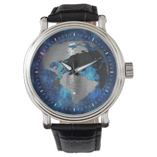 Metal Earth Globe Watches