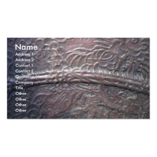 Metal Edge Double-Sided Standard Business Cards (Pack Of 100)