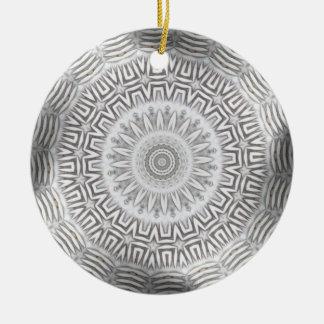 METAL Element Kaleido Pattern Ceramic Ornament