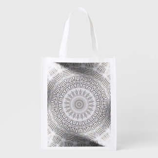 METAL Element Kaleido Pattern Reusable Grocery Bag